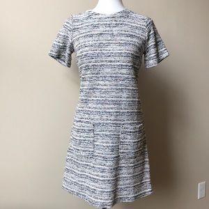NWT Loft Textured Shift Dress with Pockets